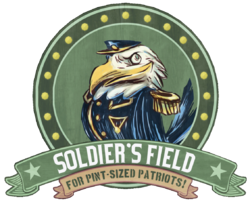 Soldier's Field Earnest Eagle sign.png
