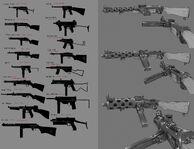 BI Machine Gun Concept