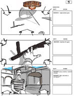 BioShock Infinite Early Battleship Bay Storyboards 5