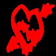 FD X SW Heart graffiti