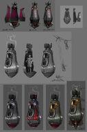 Motorized Patriot Pod Concept Art & Models