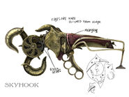 Skyhook concept art by Robb Waters