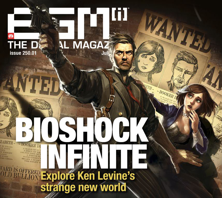 Evans0305/EGM's reveal of Booker DeWitt in this month's issue