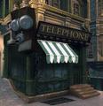 Early Art Nouveau Columbia Telephone Concept