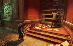 BioI Shantytown Begging Woman & Knocking Man.jpg