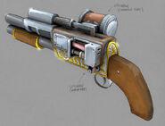 BioShock Shotgun Concept Art10