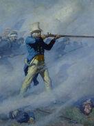 John Burns of Gettysburg Painting