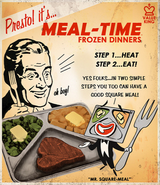 BioShock Unused Meal-Time Frozen Dinners Poster