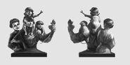 Finkton Worker Statue Concept