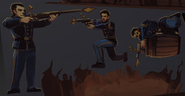 BioI Unused Comstock, DeWitt & Slate Hall of Heroes Cutouts