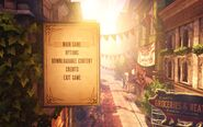 BioShock Infinite Main Menu