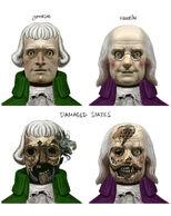 Pat faces