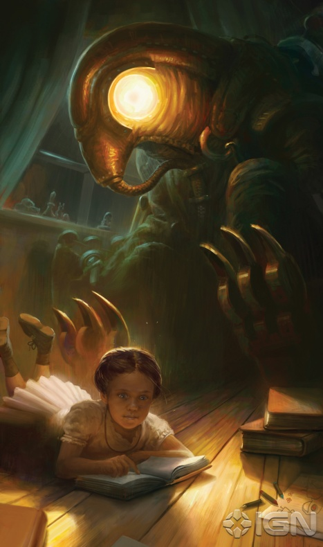 Evans0305/IGN's BioShock Infinite article: Creating a Monster + new concept art!