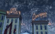 CitC Emporia Arcade - Cafe New Eden & The Cunningham Studios Marquees
