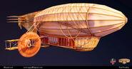 BioI Paul Presley Civilian Zeppelin Model