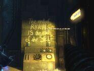 Mural El fin de Ryan es el fin del yo