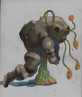 Early Big Daddy Slug Parasite Concept
