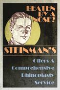 Steinman's Rhinoplasty Poster