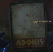 Anuncio del complejo de lujo Adonis