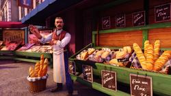 Burial at Sea Episode 2 Paris Scripted Events bread vendor.png