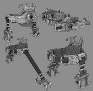 BI Early RPG SupportFiring Belt Upgrade