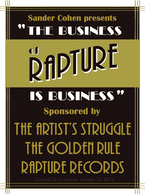 The Business of Rapture is Business Poster