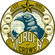 Murder of Crows Original Bottle Label