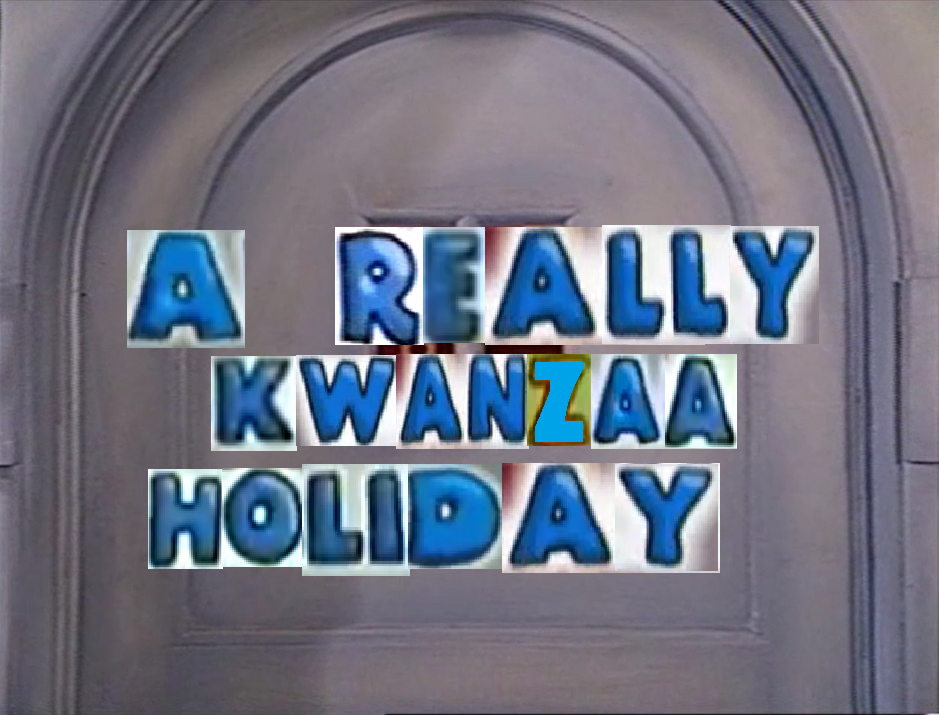 A Really Kwanzaa Holiday