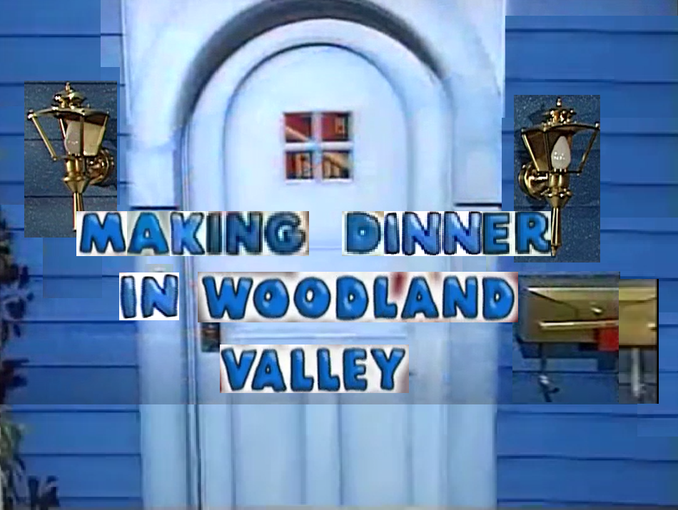 Making Dinner in Woodland Valley