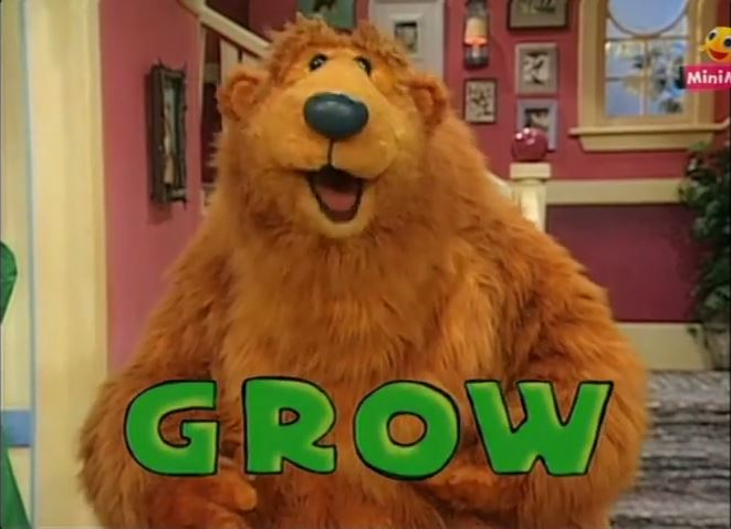 A Plant Grows in Bear's House