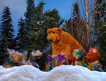 Bear and his friends go out in the winter to search for the Winter Berry