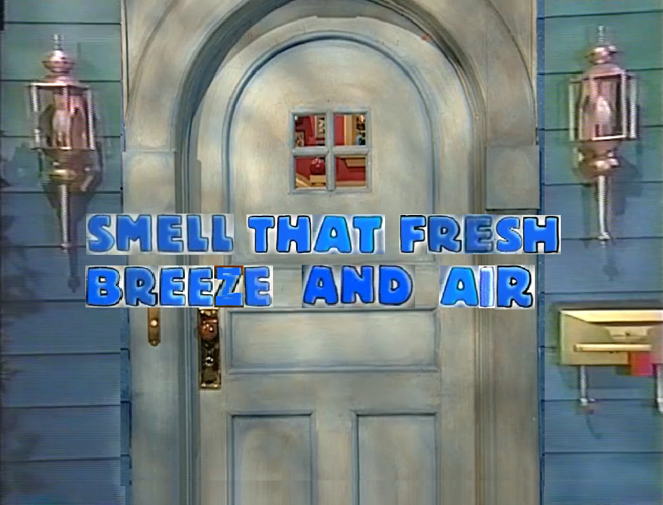 Smell That Fresh Breeze and Air
