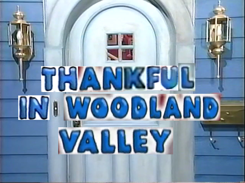 Thankful in Woodland Valley