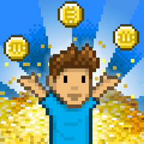 The Bitcoin Billionaire app icon.