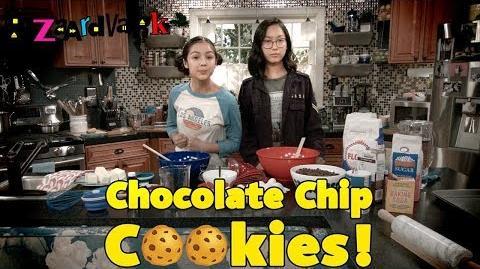 Chocolate Chip Cookie Challenge 🍪 Bizaardvark Disney Channel