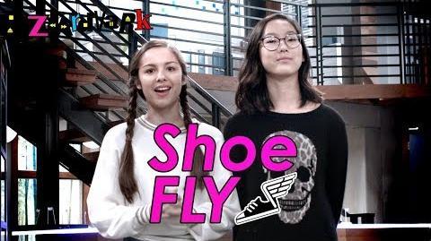 Shoe Fly Challenge 👟 Bizaardvark Disney Channel