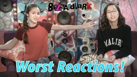 Worst Reactions! Bizaardvark Disney Channel