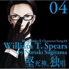 Black Butler II Character Song Vol. 04 William.jpg