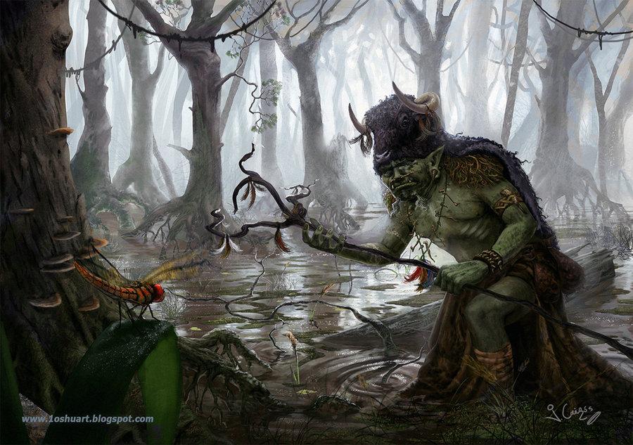 The Swamp King (5e Warlock Archetype)