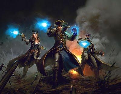 Black Powder Mage (5e Wizard Archetype)