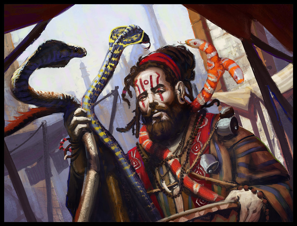 College of Serpents (5e Bard Archetype)