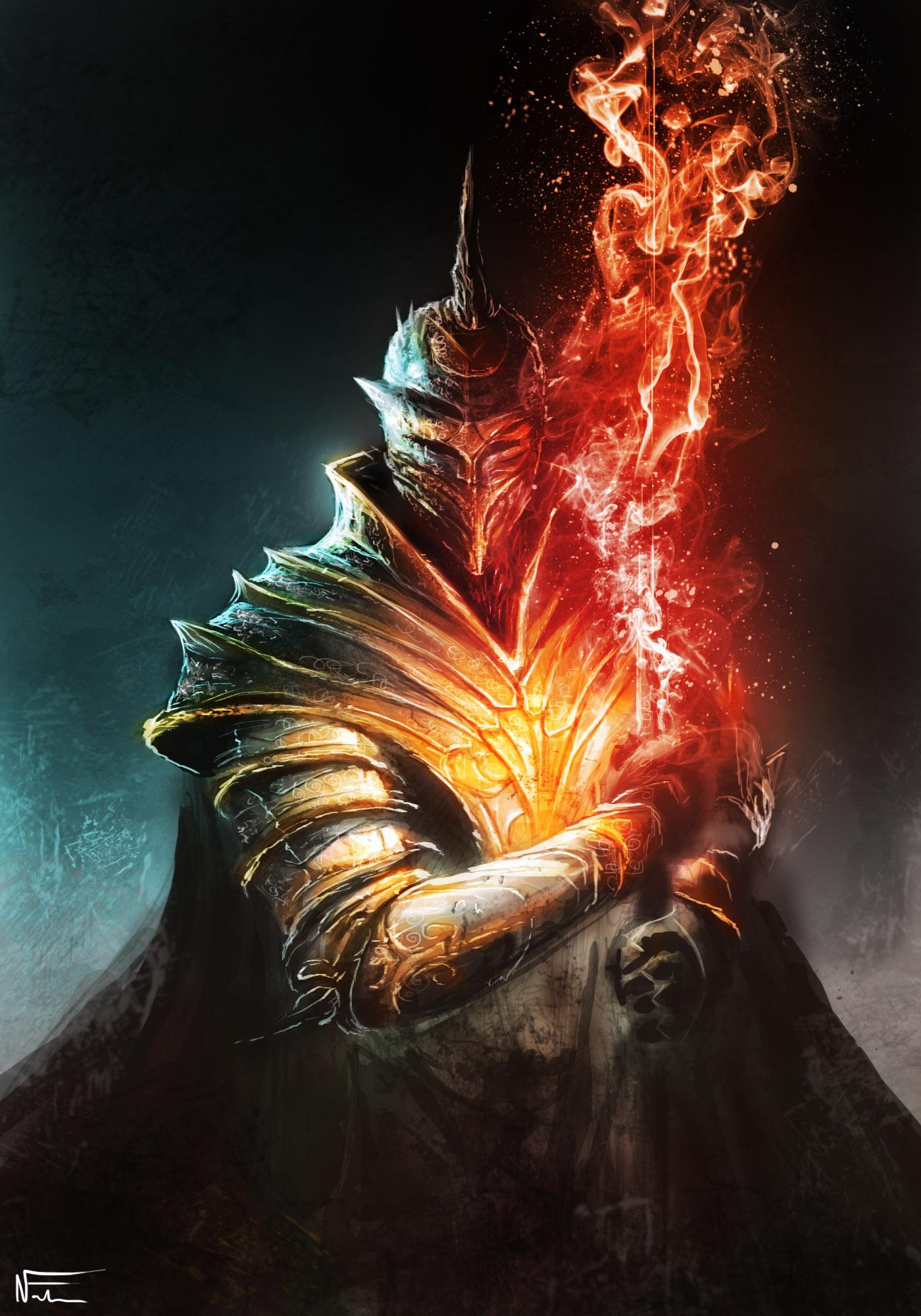 Burning Knight (5e Fighter Archetype)