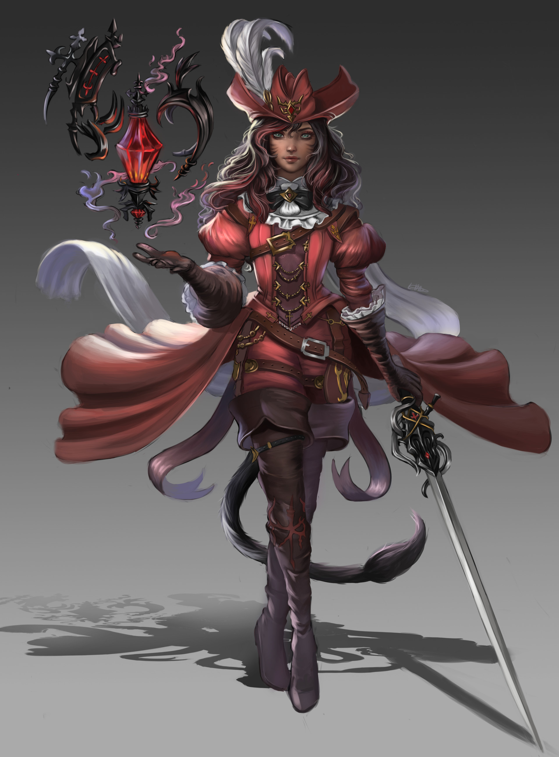 Red Magic (5e Witch Archetype)