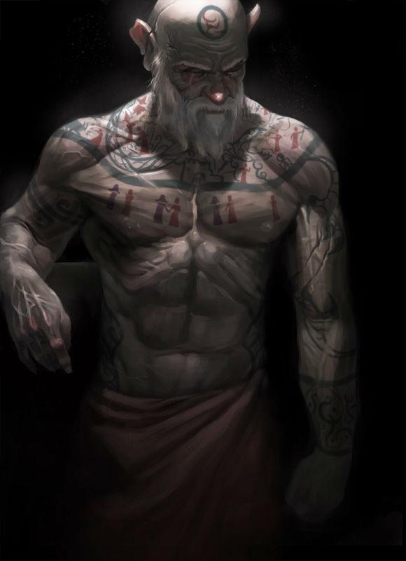 Path of the Tattooist (5e Barbarian Archetype)