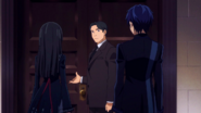 Kisara and Rentaro arrive to the meeting
