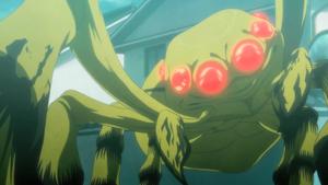 Sumiaki as a Gastrea (Pre Release)