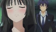 Kisara asks Rentaro to hold her hand