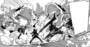 Rentaro and Shougen team-up.png