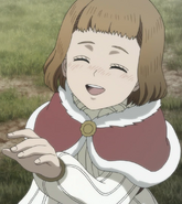 Mimosa as a child
