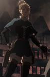 Charlotte as Magic Knight